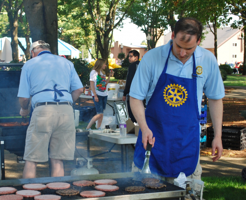 Traditional Canby Rotary BBQ