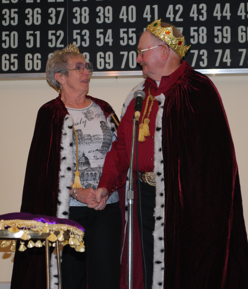 King and Queen of General Canby Days - Doc and Dixie Harms