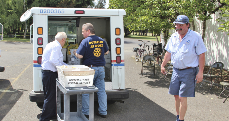 Mail Carrier Food Drive